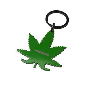 llavero hoja marihuana