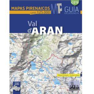 val d'aran mapas pirenaicos
