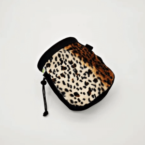 leopardo chalk bag