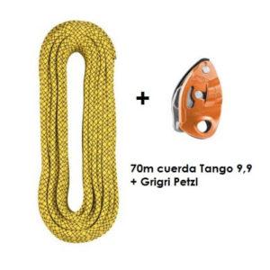 70m Tango 9'9 + Grigri